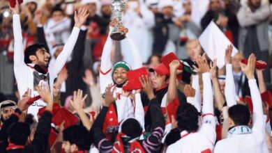 Photo of The Emirati White … a second Gulf title with a goal in the 107th minute