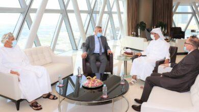 Photo of رئيس اتحاد كأس الخليج العربي يجتمع مع رئيس الهيئة التطبيعية لاتحاد الكرة العراقي