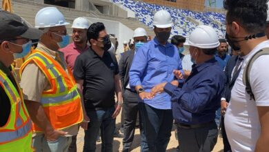 Photo of Gulf Cup 25 inspection team concludes its mission in Basra