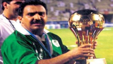 Photo of Al-Kharashi … 12th Gulf Cup champion and maker of Saudi football glories