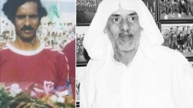 Photo of The owner of the first goal in the Gulf tournaments … the death of Bahraini football star Ahmed Salmeen