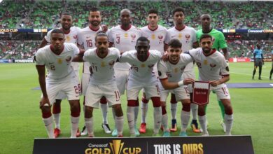 Photo of In the semi-finals of the tournament … Qatar has given the Gold Cup with a loss from America