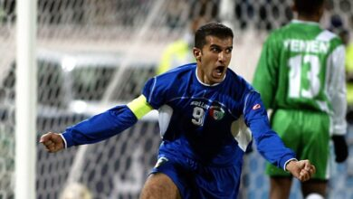 Photo of Bashar Abdullah.. The march of the historical top scorer of Kuwaiti blue